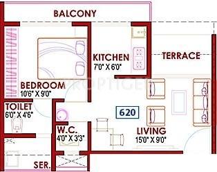 Ghp casa in ulwe mumbai price location map floor plan for Casa floor