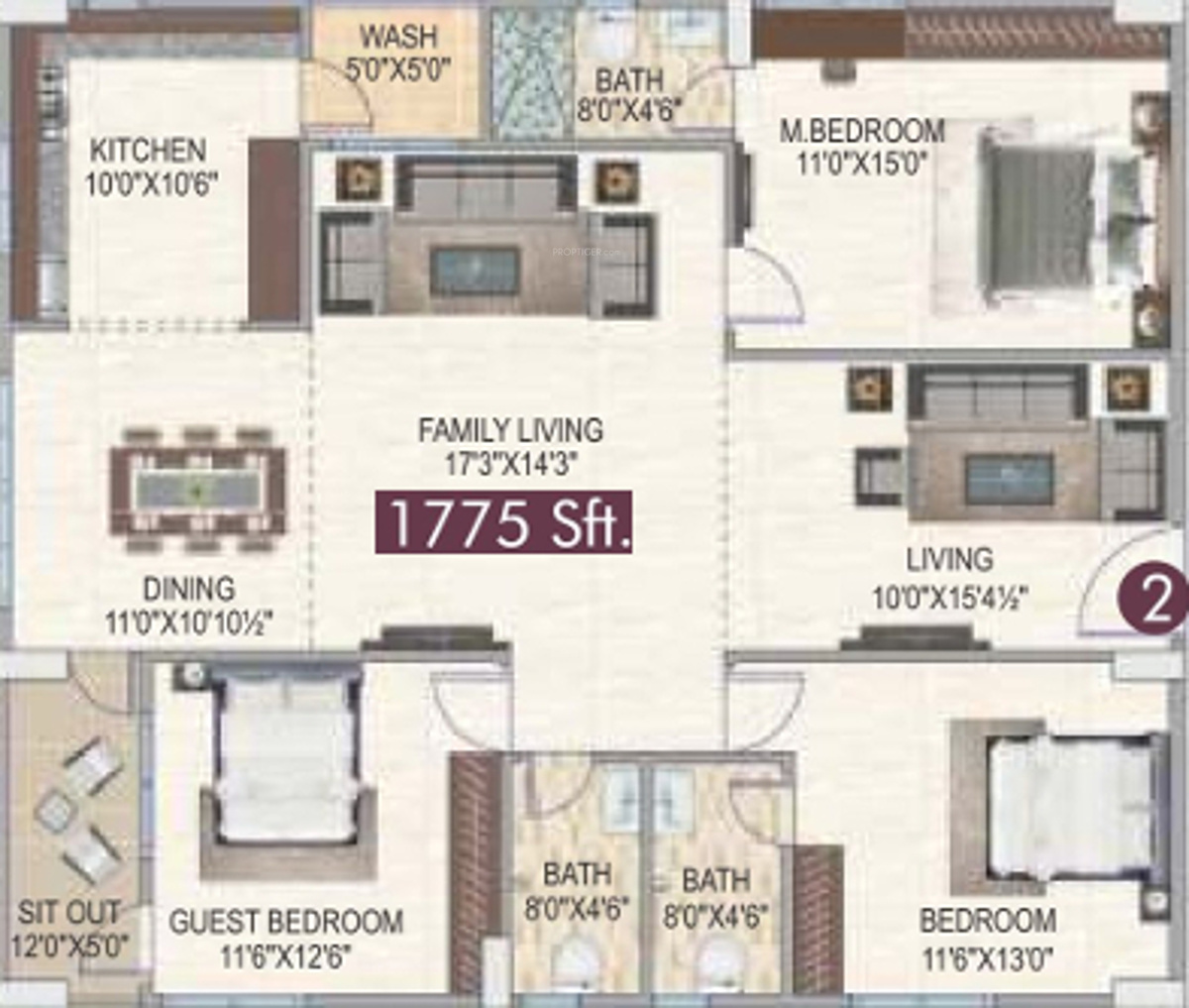 Newmark Homes Floor Plans Newmark Homes In Kompally Hyderabad Price Location Map