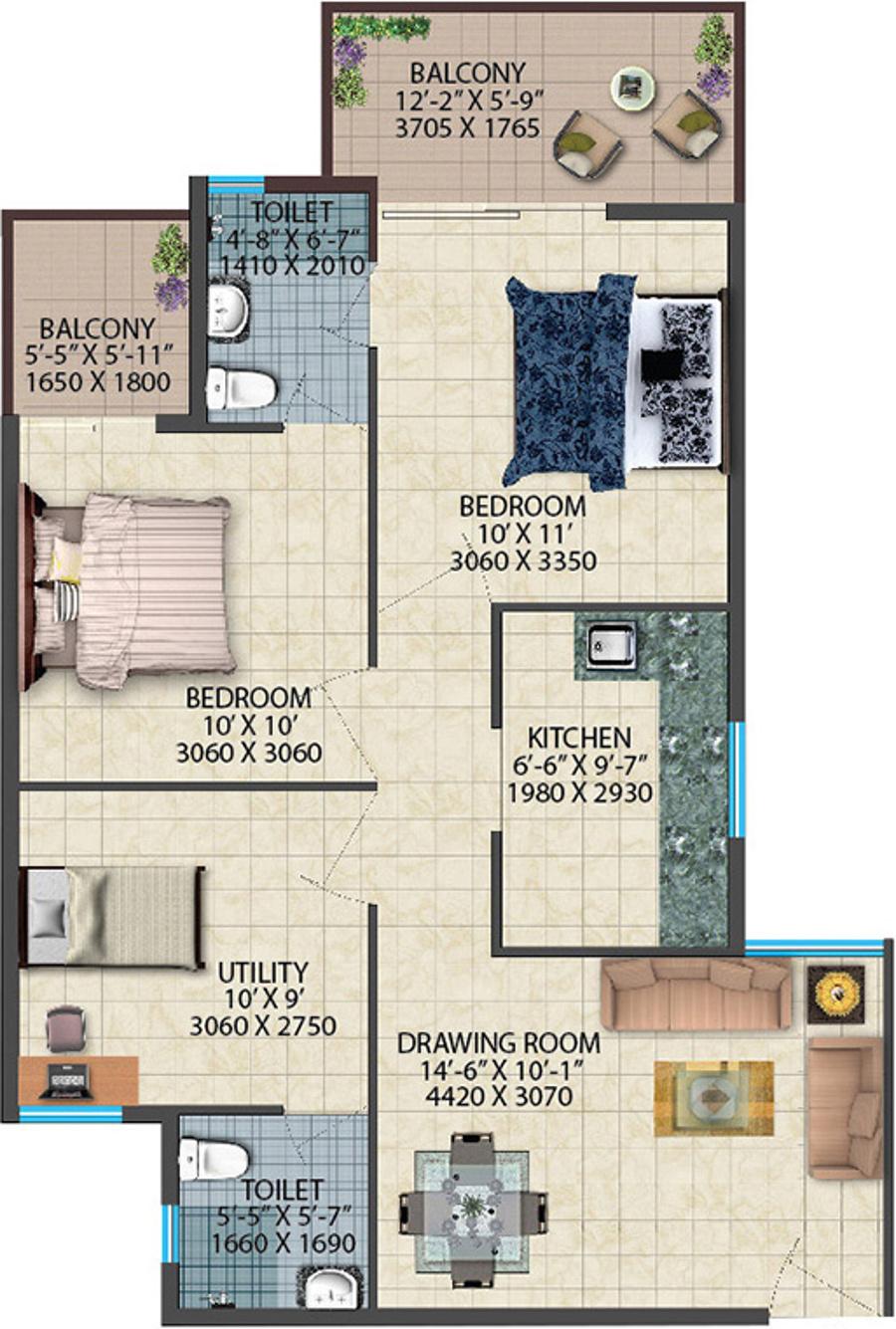Conscient Habitat 78 In Sector 78 Faridabad Price