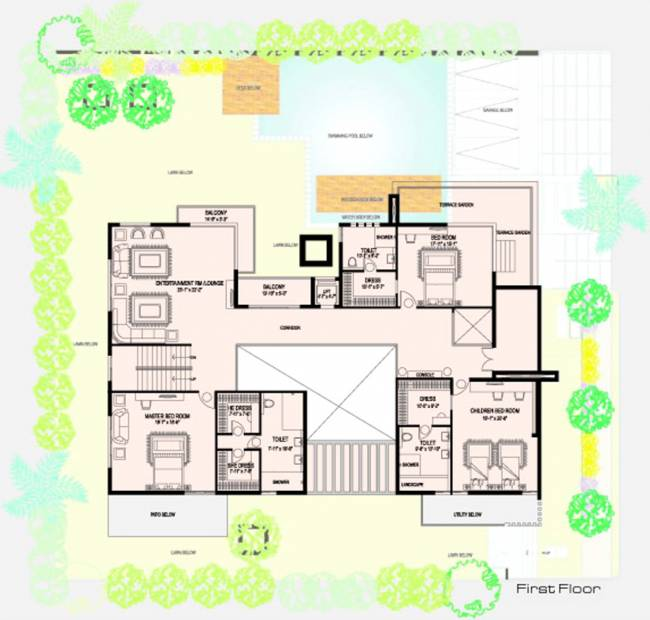 Amara Samudra (4BHK+5T (8,500 sq ft) + Servant Room 8500 sq ft)