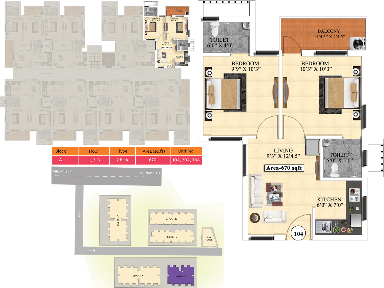 vijay ideal homes in tiruvallur chennai price location