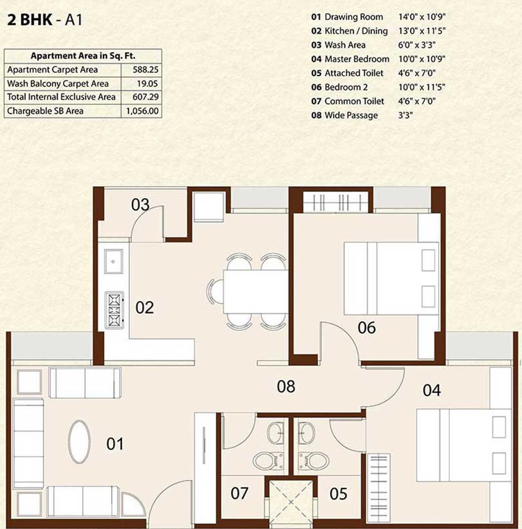 Sushrut enterprises saujanya apartments in amraiwadi for 12th floor apartments odessa