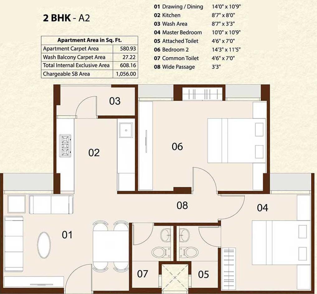 Sushrut enterprises saujanya apartments in amraiwadi for 12th floor apartments