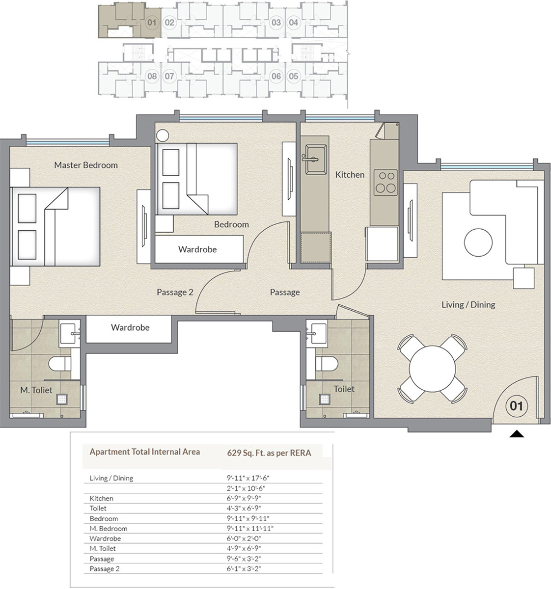 Hiranandani castle rock a and b wing in powai mumbai for Castle rock floor plans