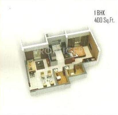 Morya Mandar Avenue F II (1BHK+1T (650 sq ft) 650 sq ft)