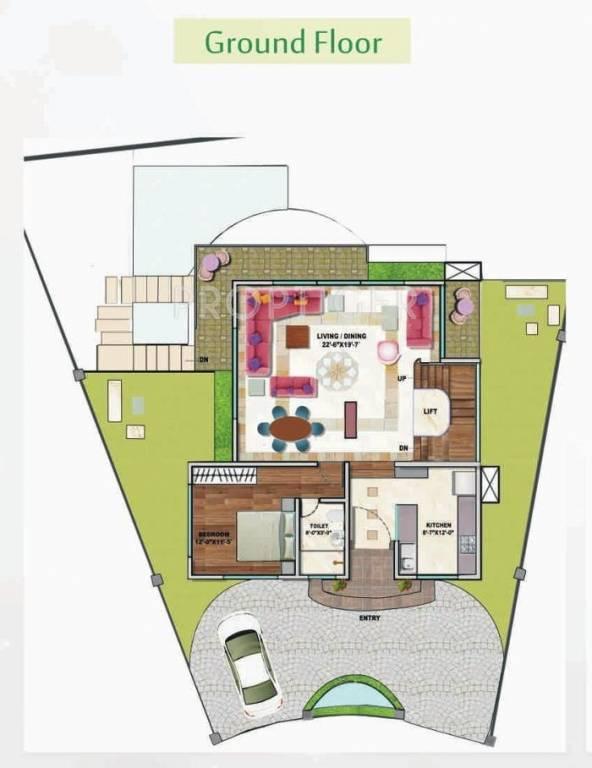 4000 sq ft 3 bhk 4t villa for sale in ashapura infina for 4000 sq ft modular homes