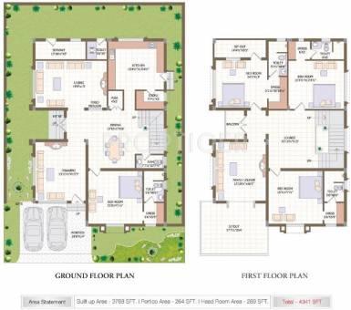 Subishi developers windsor luxury homes in mokila for Windsor homes floor plans