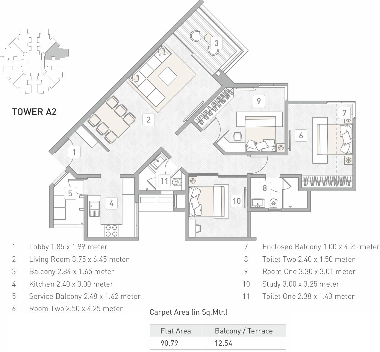 Kasturi Building A2 Eon Homes In Hinjewadi Pune Price Location Map Floor Plan Reviews Proptiger Com