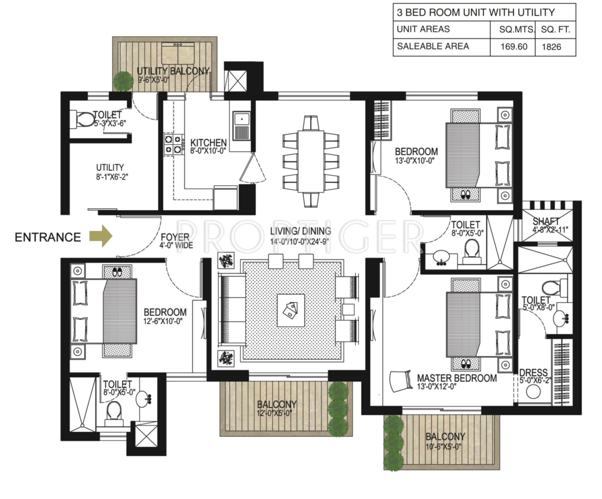 45 ft x 40 house plans arts 1826 sq ft 3 bhk 3t apartment in alpha g corp gurgaon one w1024 v 8 24 x 45 house plans