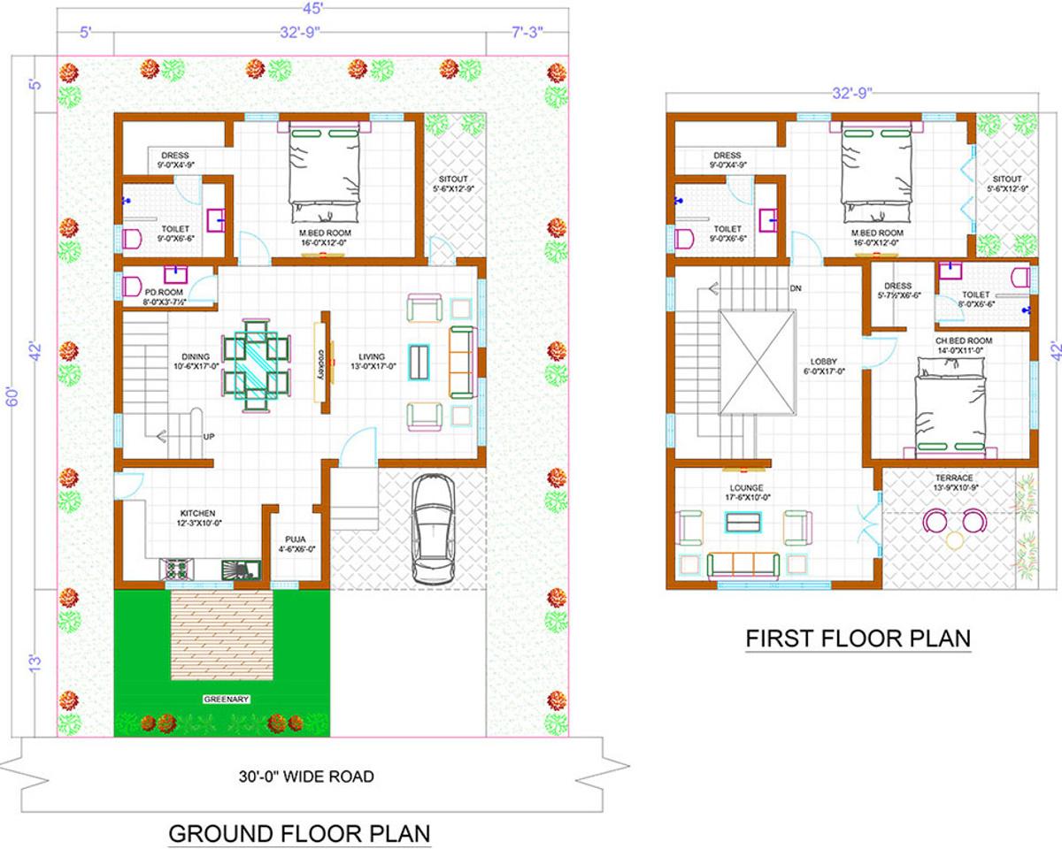 Luxury Homes Floor Plans | Subishi Bliss Luxury Homes In Mokila Hyderabad Price Location