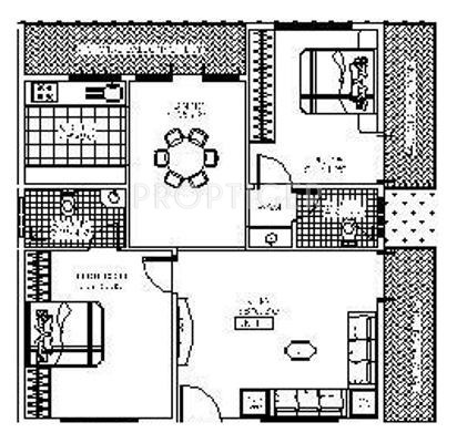 1050 sq ft 2 bhk 2t apartment for sale in puja sarovara for 1050 sq ft floor plans