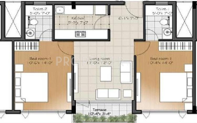 950 sq ft 2 bhk 2t south facing resale apartment on 1st for 950 sq ft