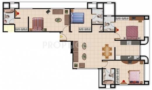 1900 Sq Ft 4 Bhk 4t Apartment For Sale In Sadguru Builders