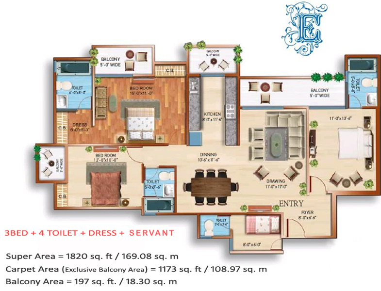 Maxblis white house iii in sector 75 noida price location map more photos ccuart Gallery