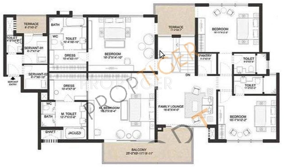 4000 Sq Ft House Plans India House Plans