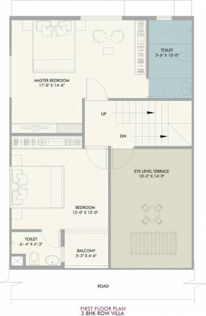 Vivansaa Amaryllies Boulevard (3BHK+3T (1,766 sq ft) 1766 sq ft)
