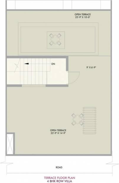 Vivansaa Amaryllies Boulevard (4BHK+4T (1,958 sq ft) 1958 sq ft)