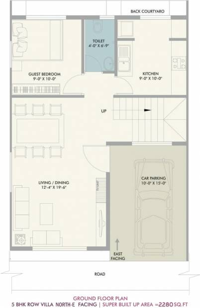 Vivansaa Amaryllies Boulevard (5BHK+5T (2,280 sq ft) 2280 sq ft)