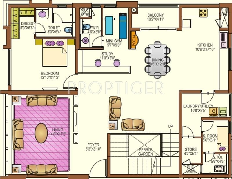 Lanco Hills Apartments (4BHK+5T (4,358 sq ft) + Study Room 4358 sq ft)