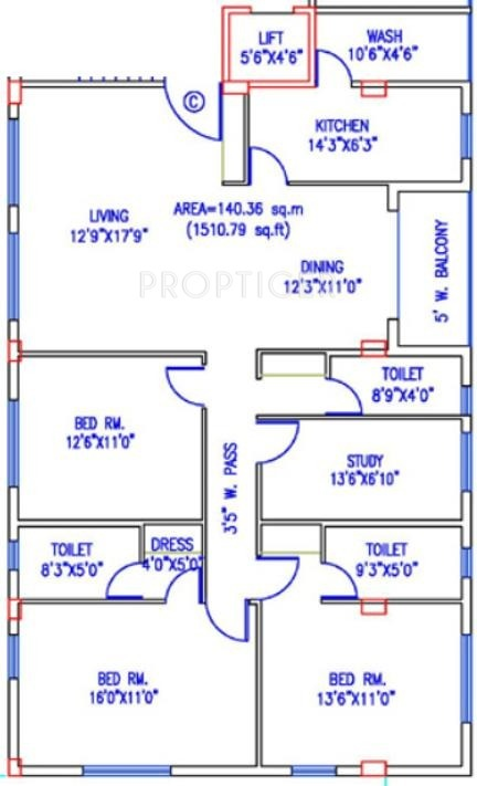 2000 sq ft 4 bhk 3t apartment for sale in merlin group for Cost of 2000 sq ft modular home