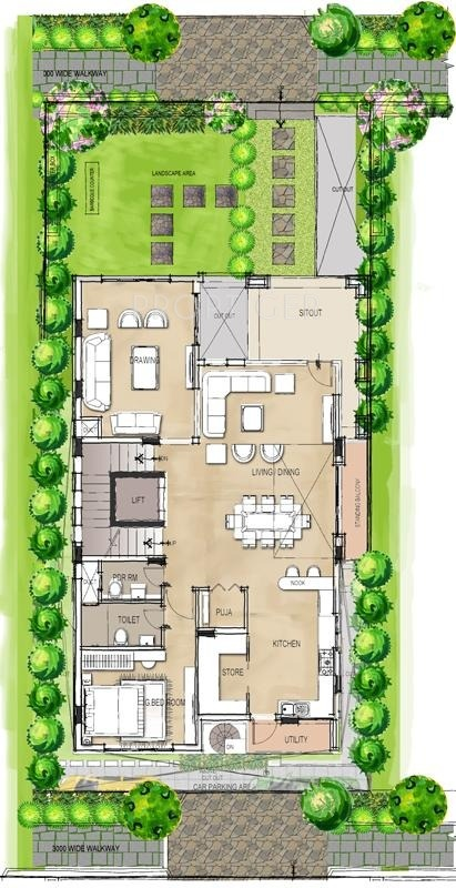 Lanco Hanging Gardens Villas In Manikonda Hyderabad Price Location Map Floor Plan Reviews