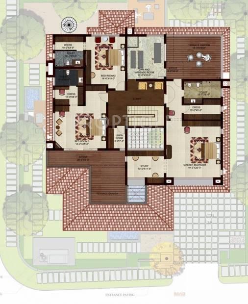 Raj Buckingham Gardens (4BHK+4T (6,618 sq ft)   Study Room 6618 sq ft)