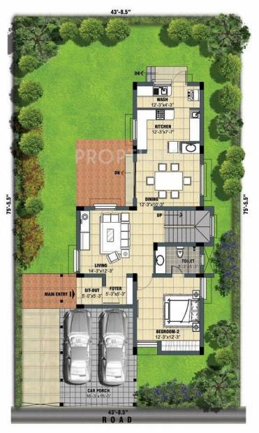 Lancor Town And Country (3BHK+3T (1,705 sq ft) 1705 sq ft)