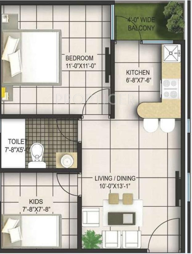 Indian House Plans For 650 Square Feet