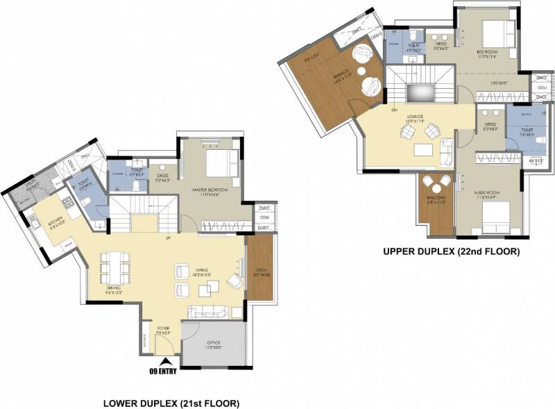 m-one Floor Plan Floor Plan