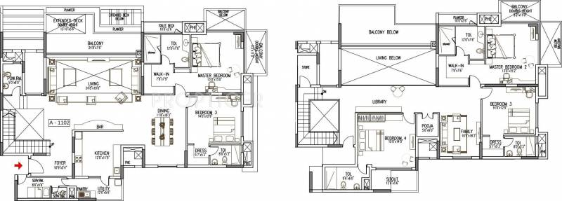 5000 sq ft 5 bhk floor plan image the address maker the for Floor plans by address