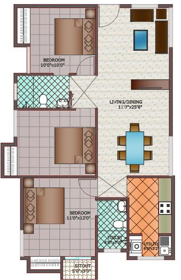 800 sq ft house plans with vastu for 800 sq ft home plans