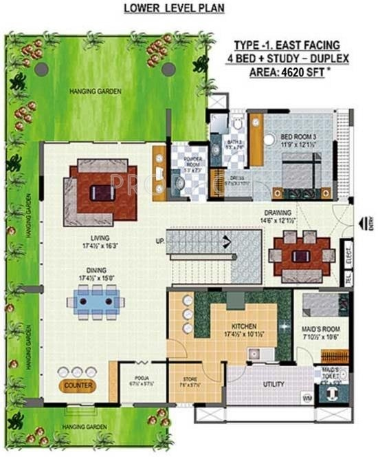Apartment Floor Plans In Hyderabad hill county county apartment in nizampet, hyderabad - price