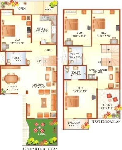 4 bhk 4t villa for sale in mirchandani group shalimar for Spa bhopal uniform