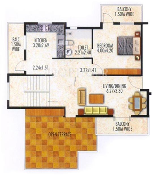 Devashri Splendor (3BHK+3T (2,425 sq ft) 2425 sq ft)