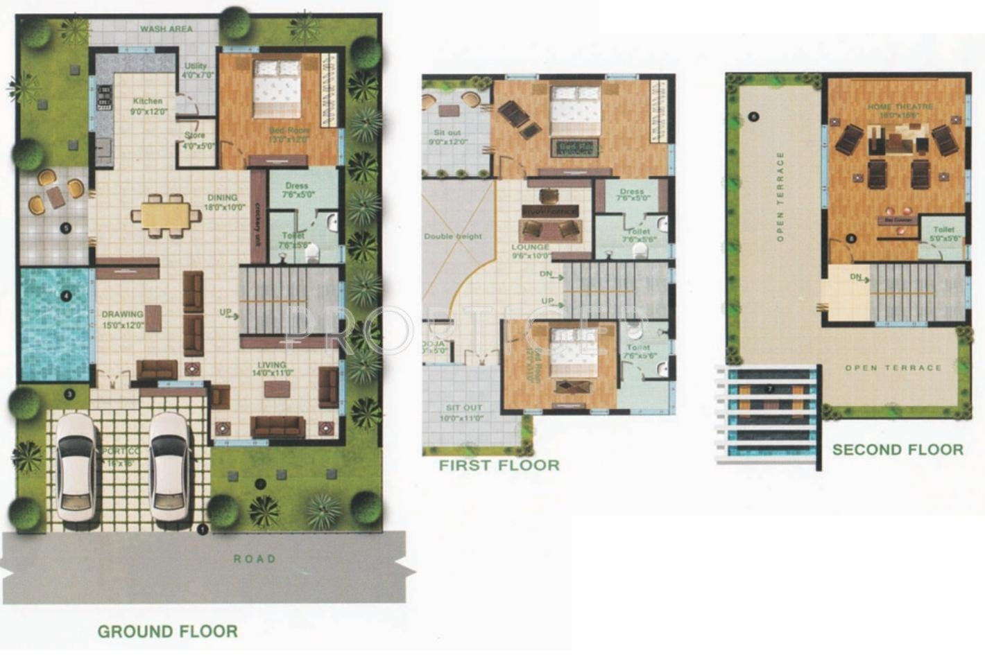 100 floor plans 3000 sq ft 3000 square foot house gorgeous floor plans 3000 sq ft 3000 sq ft 3 bhk 3t villa for sale in giridhari