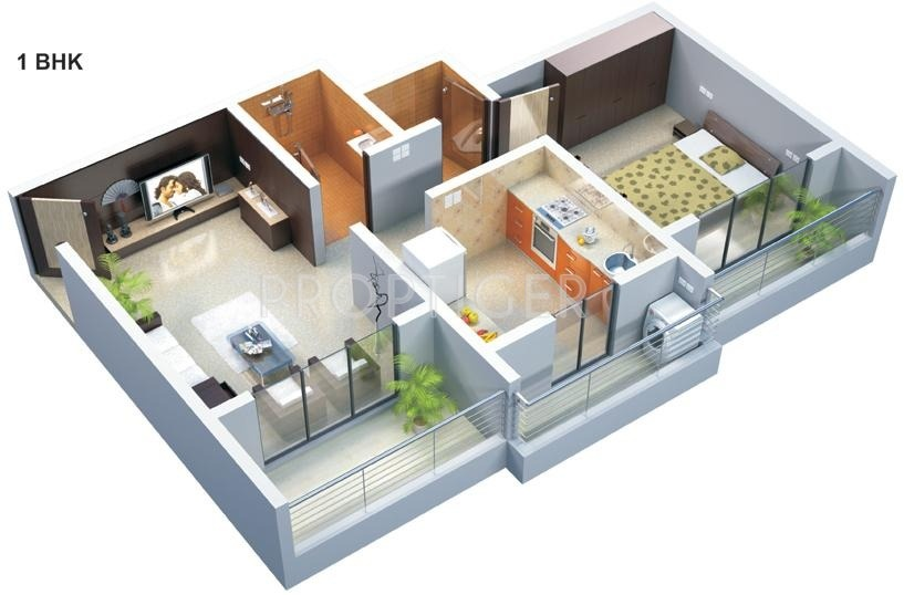 975 Sq Ft 2 Bhk 2t Apartment For Sale In Dalal Buildcon