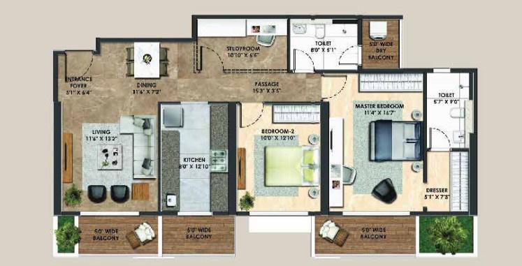 Adani Atelier Greens In Mundhwa Pune Price Location Map Floor Plan Reviews Proptiger Com