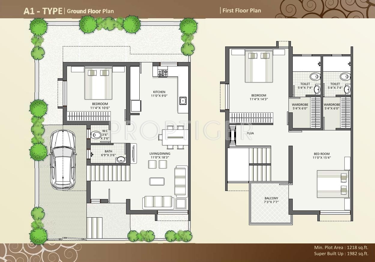 Br siddharth lifestyle homes in harni vadodara price for Lifestyle homes floor plans