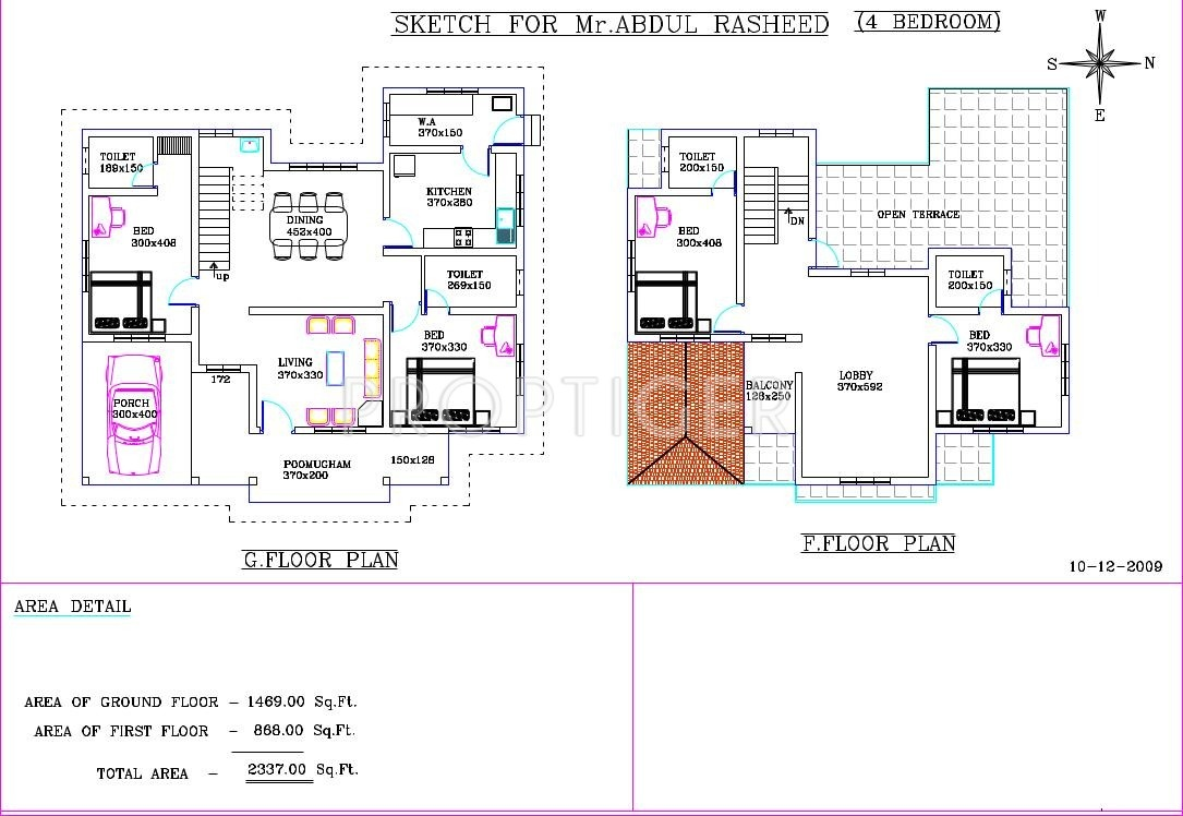 Smart floral gardens in thana kannur price location for Smart home floor plans