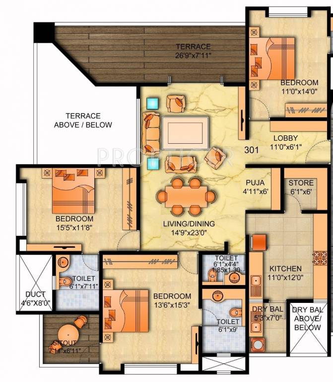 Sainath buidcon 9sunstone in karve nagar pune price for Cost to build 2000 sq ft house