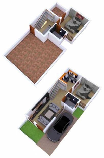 KR Villa Park (2BHK+2T (1,100 sq ft) 1100 sq ft)
