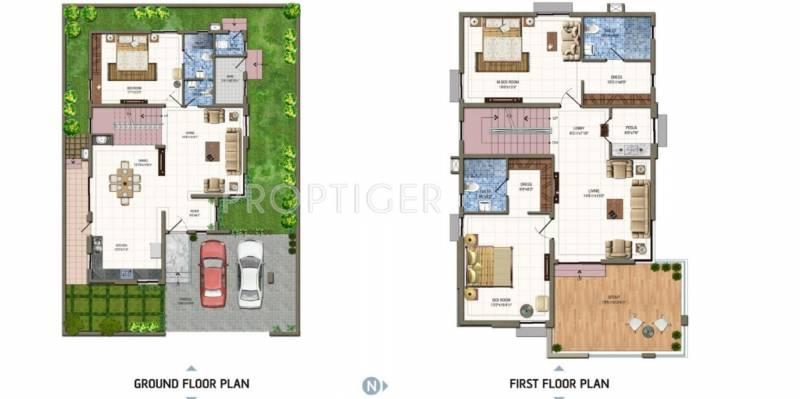 3240 sq ft 3 bhk floor plan image aparna constructions for The villages gardenia floor plan