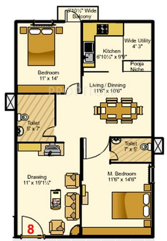 my home navadweepa floor plan 2bhk 2t 1200 sq ft 318601?width=800&height=620 1200 sq ft 2 bhk floor plan image my home navadweepa available,Floor Plans For My Home
