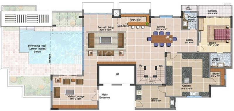 8000 sq ft 5 bhk 5t apartment for sale in prestige for 8000 sq ft house plans