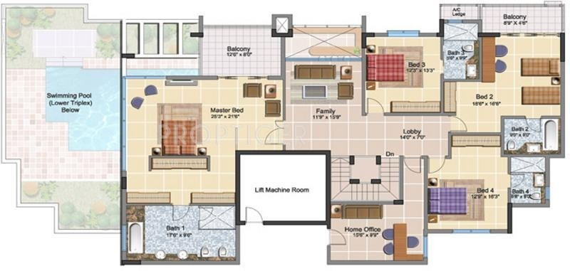 8000 sq ft 5 bhk 5t apartment for sale in prestige group for 8000 sq ft house plans