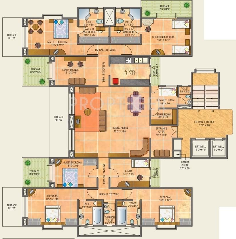 4000 sq ft 5 bhk 6t apartment for sale in parmar group for 4000 square feet dimensions