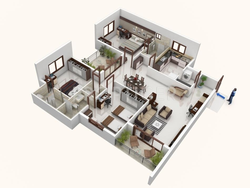 2000 sq ft 3 bhk 3t apartment for sale in mohtisham for Cost of 2000 sq ft modular home