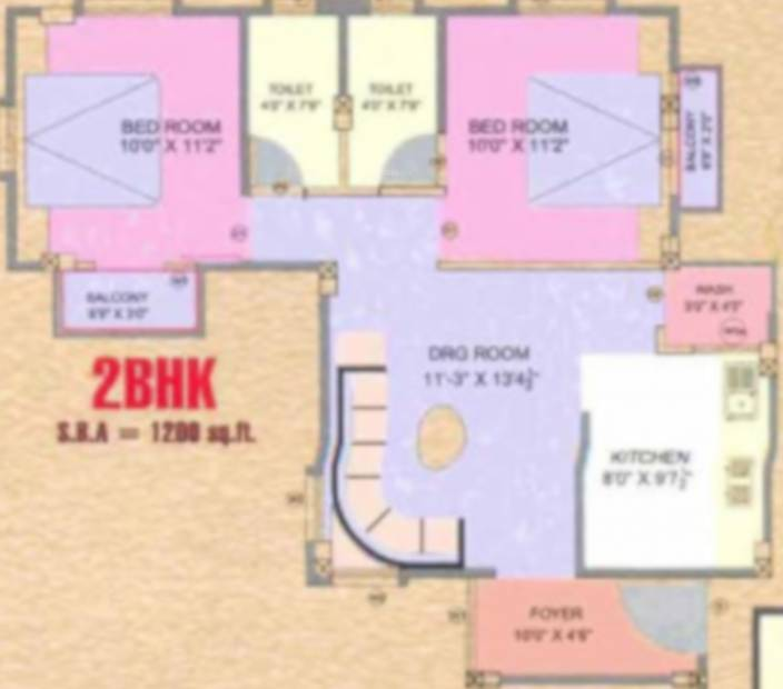golden-residency Floor Plan Floor Plan