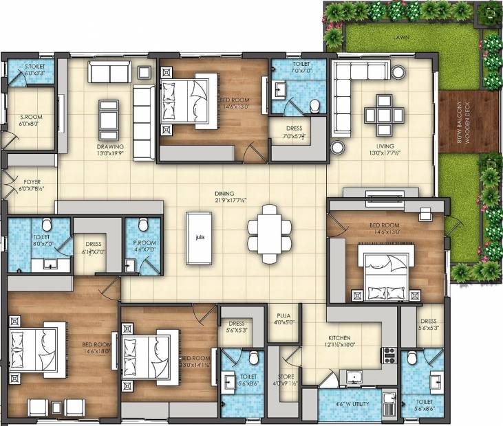 Omsree Signet (4BHK+5T (3,765 sq ft) + Servant Room 3765 sq ft)