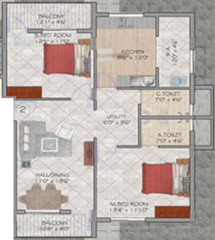 gti-marigold Floor Plan Floor Plan